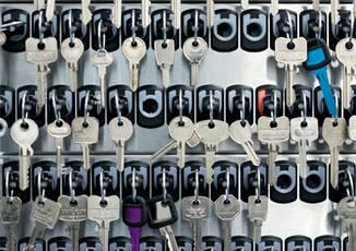 Schließanlagenverwaltung und Schlüsselaufbewahrung