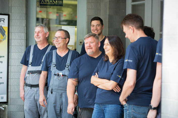 KNORR Alarmtechnik - Team